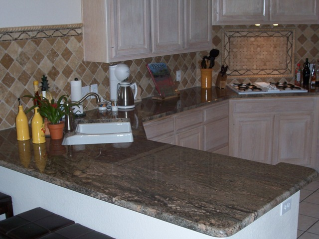 Crema Bordeaux Granite Kitchen Remodel Austin Tx